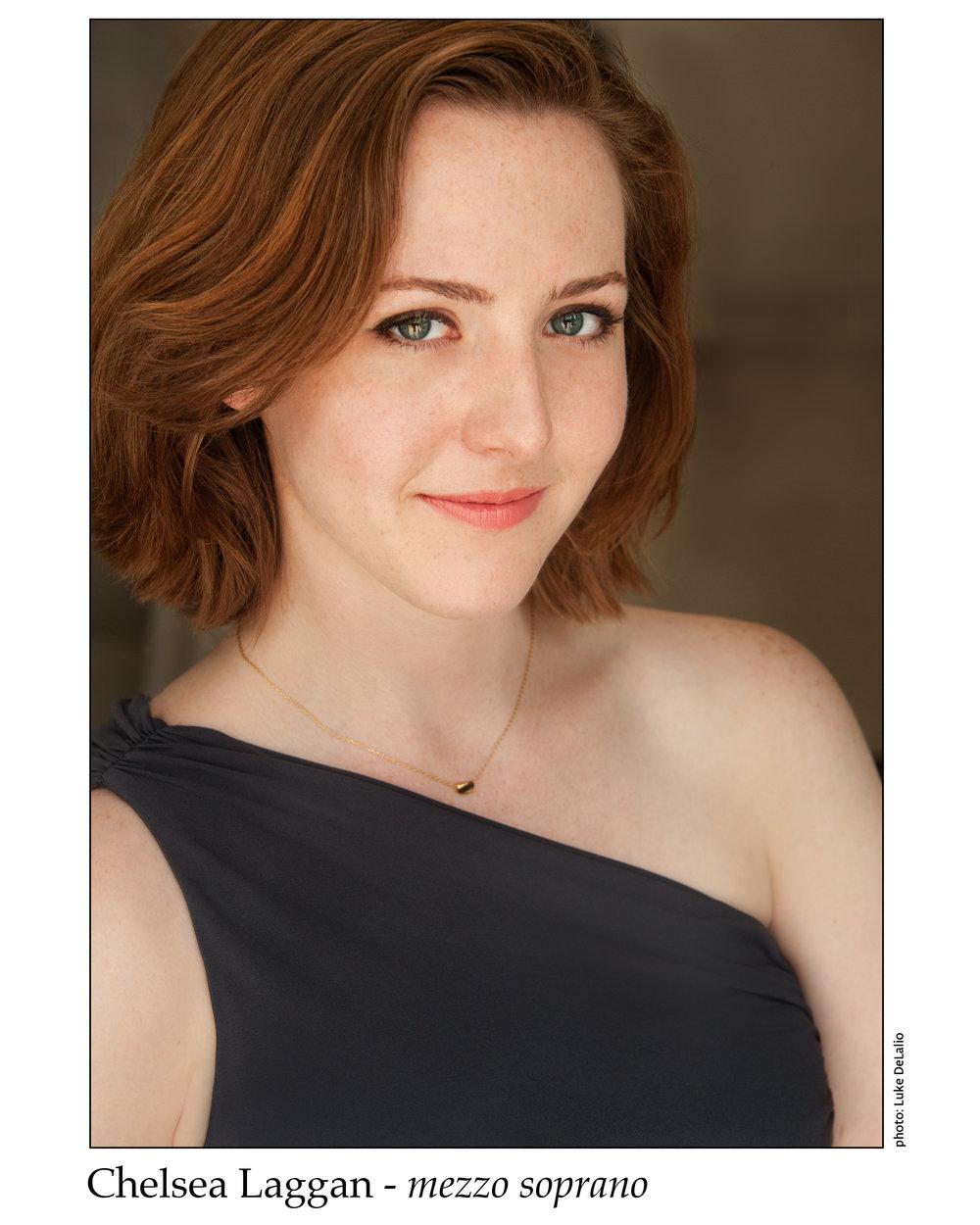 Chelsea Laggan , mezzo-soprano  December 2017