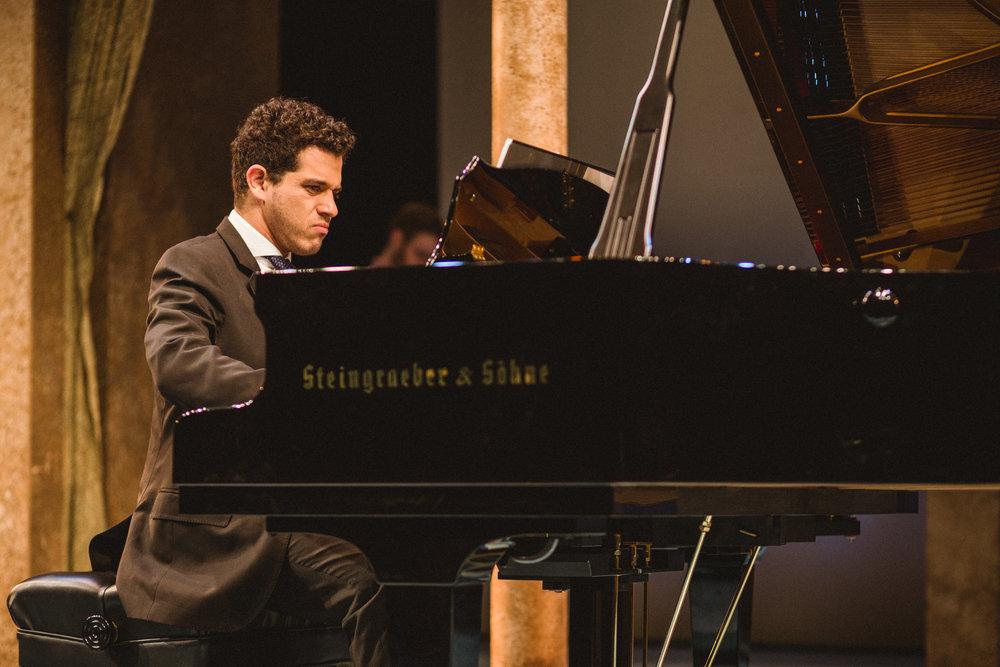 Rafael Andrade, pianist