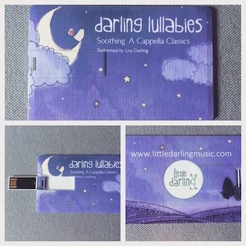 Darling Lullabies USB     Etsy