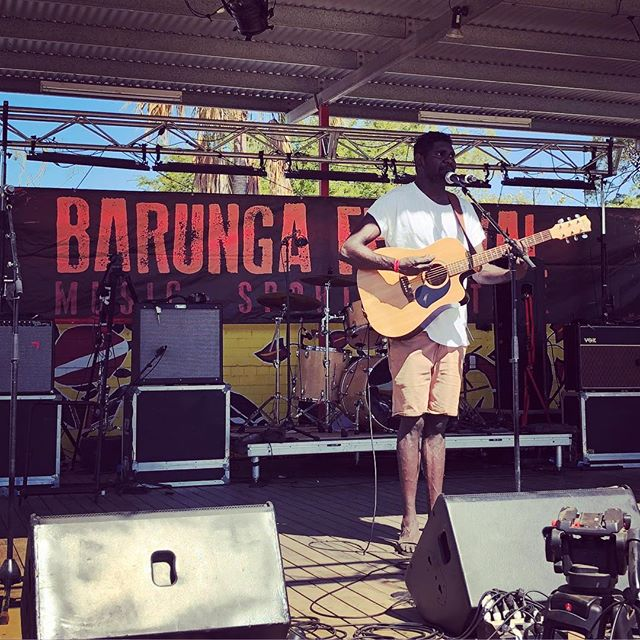 Did you catch Yirrmal on the main stage this morning? #barungafest18
