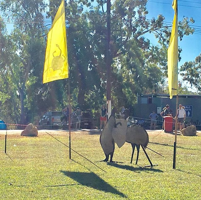 Did you catch the spear throwing competition? #barungafest18