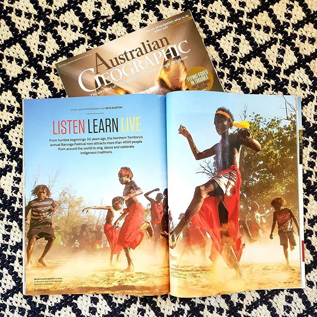 Thanks @australiangeographic for including our festival in your March-April edition! Have you got a copy? Tickets to #BarungaFestival in bio link!