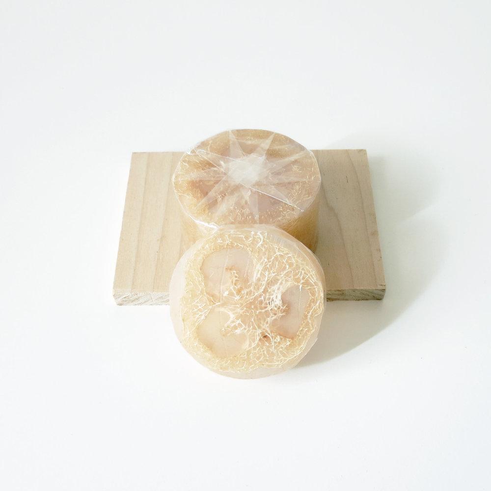 Clear Loofah Soap