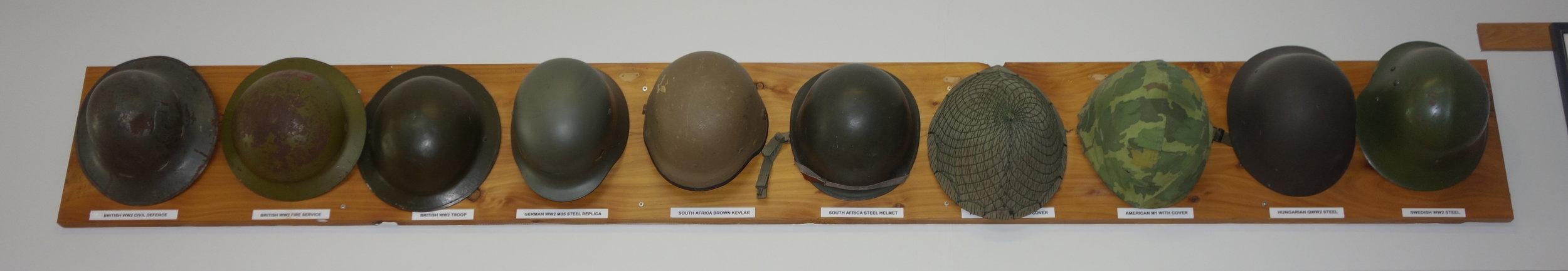 RSA helmets