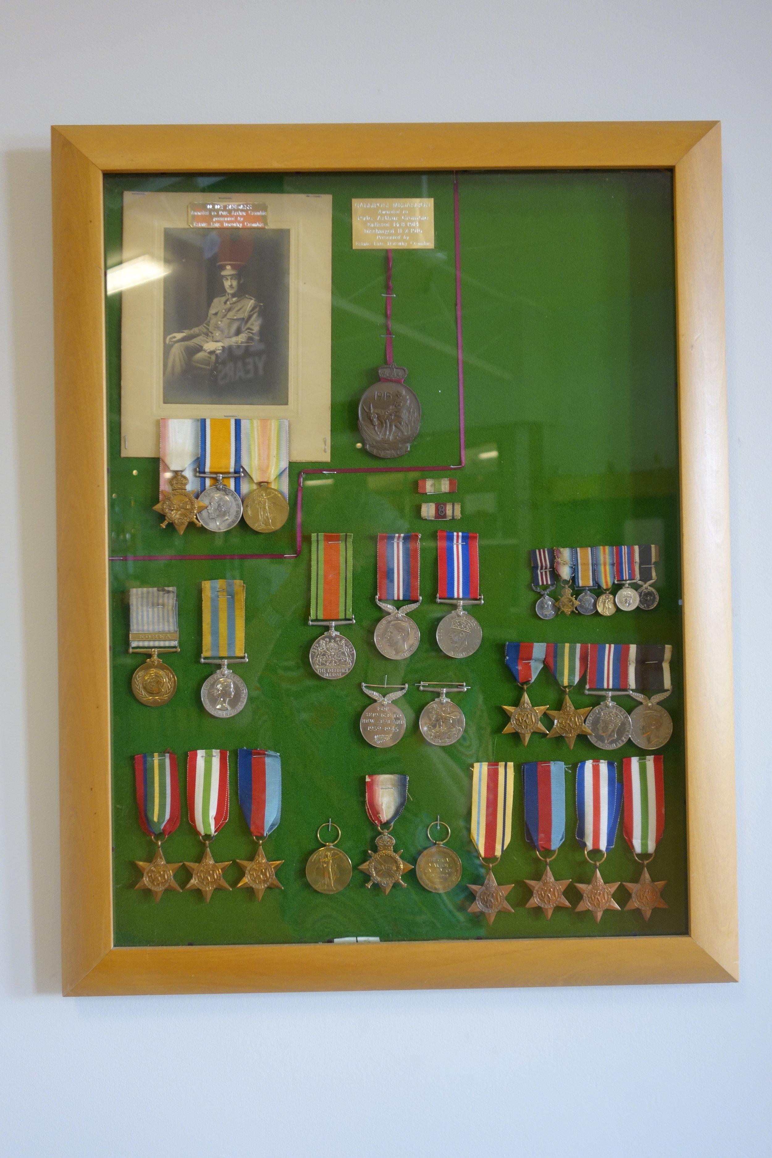 RSA medals