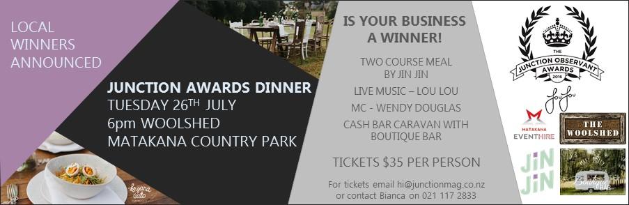 Junction Awards Dinner Ad