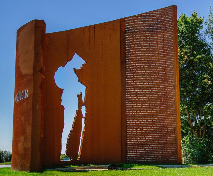 David Palmer - Leyland War Memorial