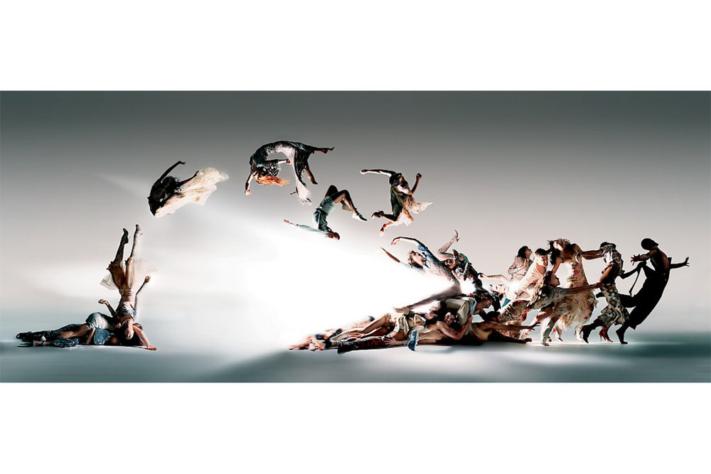 'Blade of Light' by Nick Knight for Alexander McQueen, 2004.