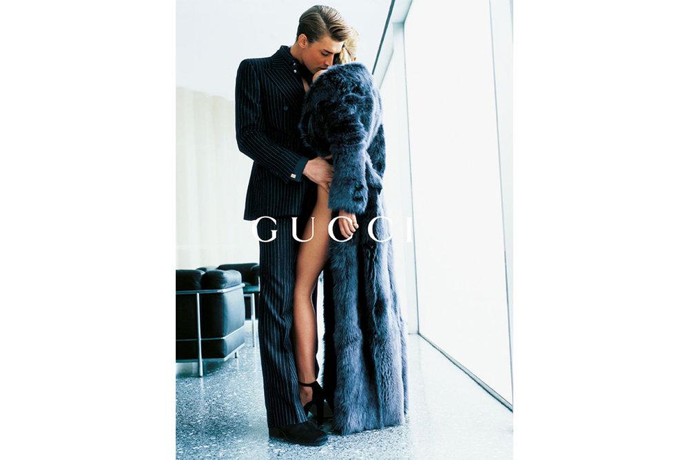 Gucci F/W 1995 by Mario Testino.