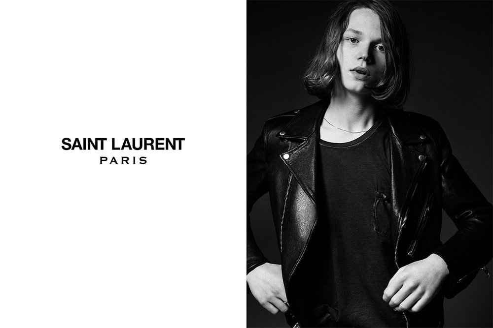 Saint Laurent Paris S/S 2015 by Hedi Slimane.