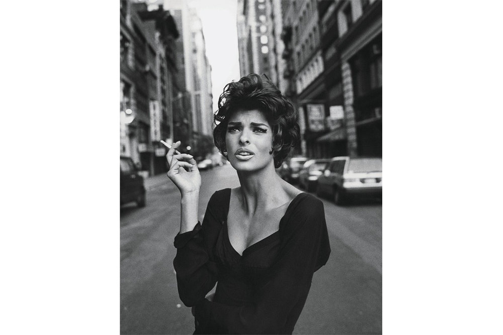 Linda Evangelista by Steven Meisel for Vogue Italia, June 1990.