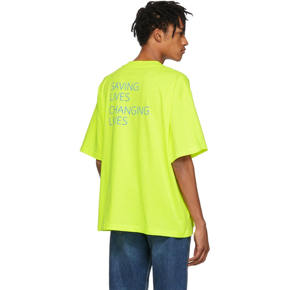 Balenciaga Yellow World Food Programme T-Shirt