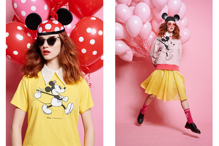 d4219b7c6591 Disney Teams Up With Karen Walker For Mickey Mouse s 90th Birthday —  Newspread