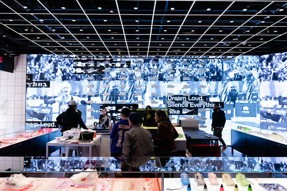 "Nike's Latest Flagship ""House Of Innovation 000"" Opens In NYC"