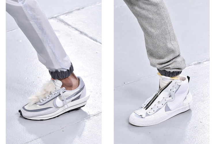 new style 760f2 8370c sacai Previews More Nike Sneakers At Paris FW19 Show — Newspread