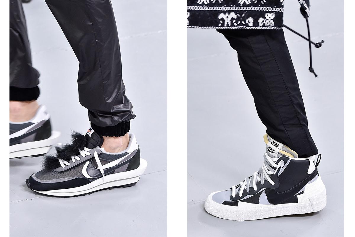2d07503921 sacai Previews More Nike Sneakers At Paris FW19 Show — Newspread