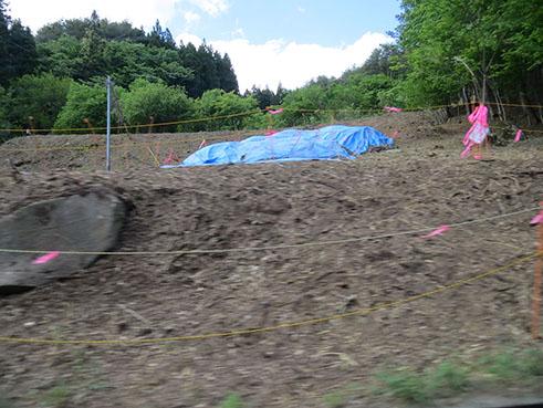 """""""The red road"""", Fukushima Daiichi, 22 May 2015"""