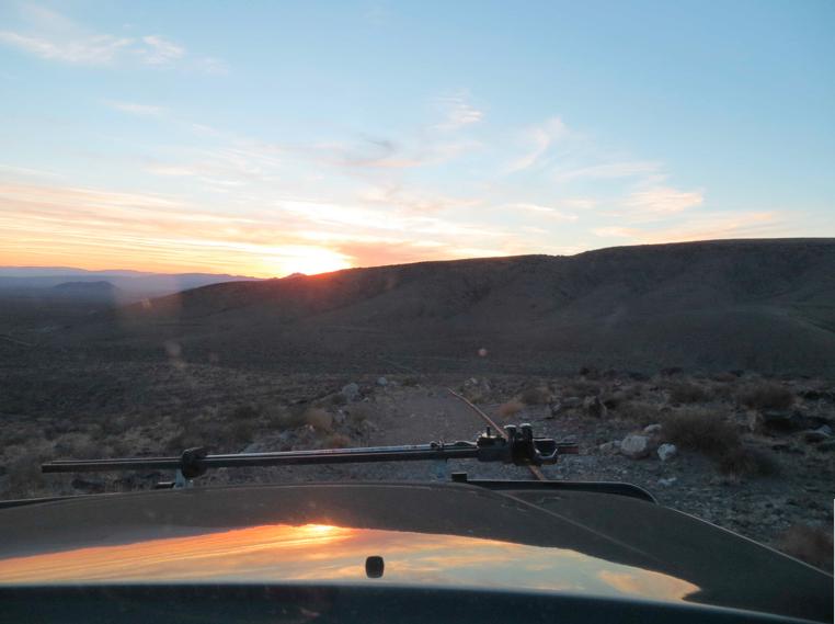 Near Yucca Mountain