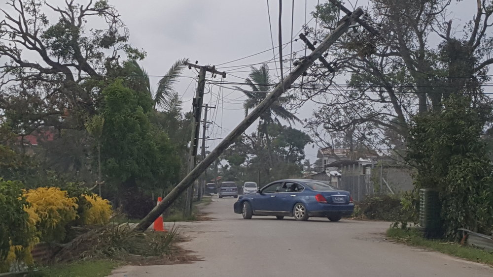Street View imagery of infrastructure damage from cyclone Gita