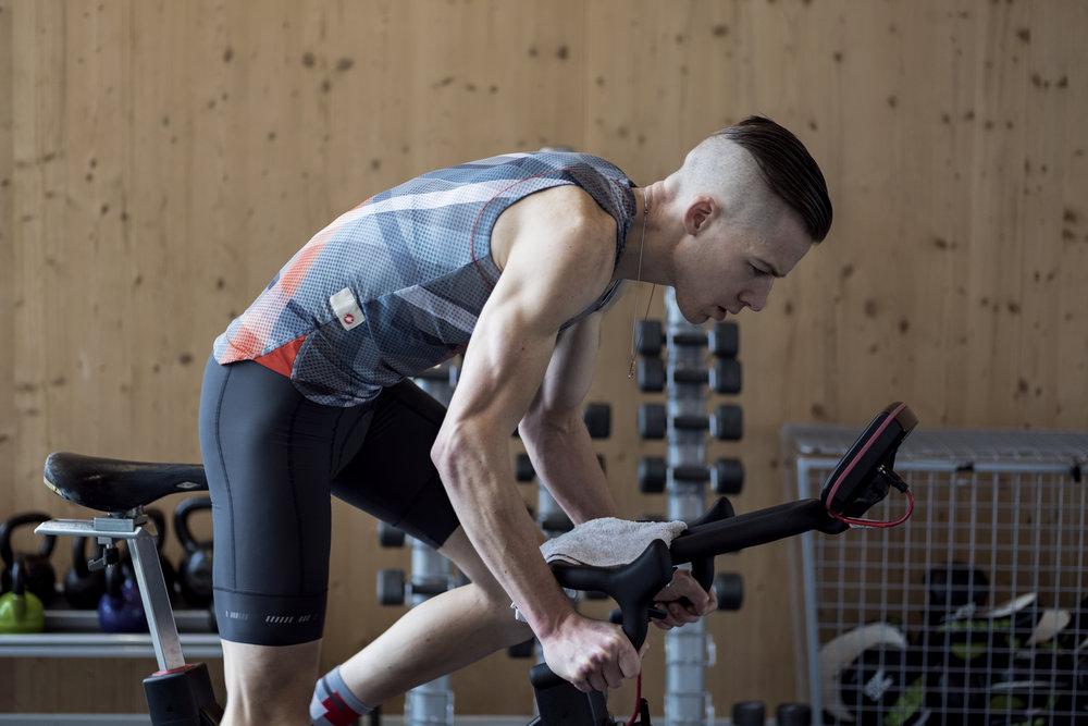 Wednesday - Wattbike intervals: 20min warm-up followed by 20x 30sec sprints 1min rest in-between.Best way to find your maximum HR…