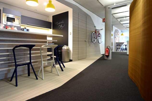 Teppichboden in Bonn aus gewebtem PVC