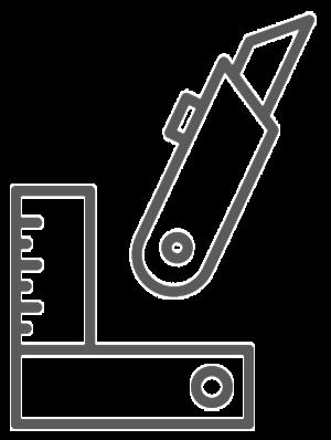 Teppichmesser & Messwinkel