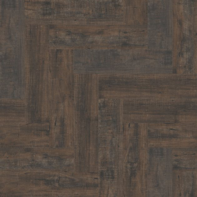 LVT Interface Distressed Black Walnut