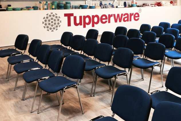 Objectflor Simplay als selbstliegende Designfliese auf ESTRICH bei Tupperware in Hannover
