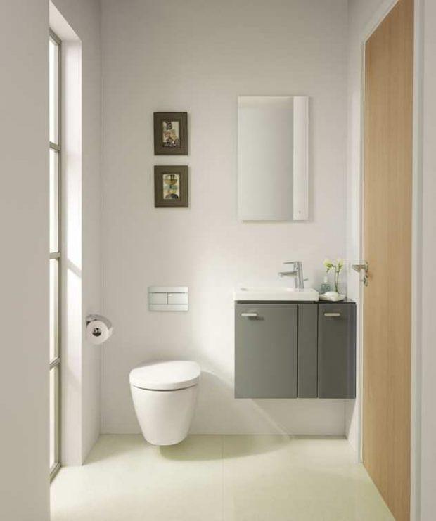 Die meisten Badezimmer sind einfach zu klein - Entdecken Sie jetzt 20 Ideen für die Einrichtung kleiner Badezimmer und WC -  Link im BIO