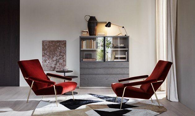 Armlehnstuhl Retro Design Gio Ponti D.153.1 von Molteni&C. Der 1953 entworfene Sessel D.153.1 ist ein Möbelteil der privaten Ausstattung von Gio Ponti in der Via Dezza in Mailand. Diese Neuauflage wird von Molteni & C auf Basis der Originalzeichnungen aus dem Ponti Archiv erstellt.  Kaufen Sie jetzt auf MakeYourHome.de  #möbel #sitzmöbel #retro #design #interior #interiordesign #architecture #deutschland #Germany #düsseldorf #berlin #hamburg #dortmund #essen #frankfurt #dresden #leipzig #stuttgart #bremen #münchen #Mönchengladbach #cologne #sessel