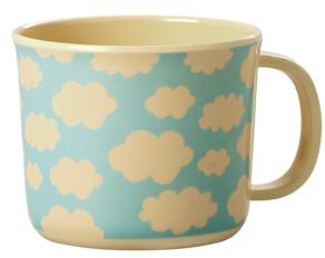 cloud melamine mug