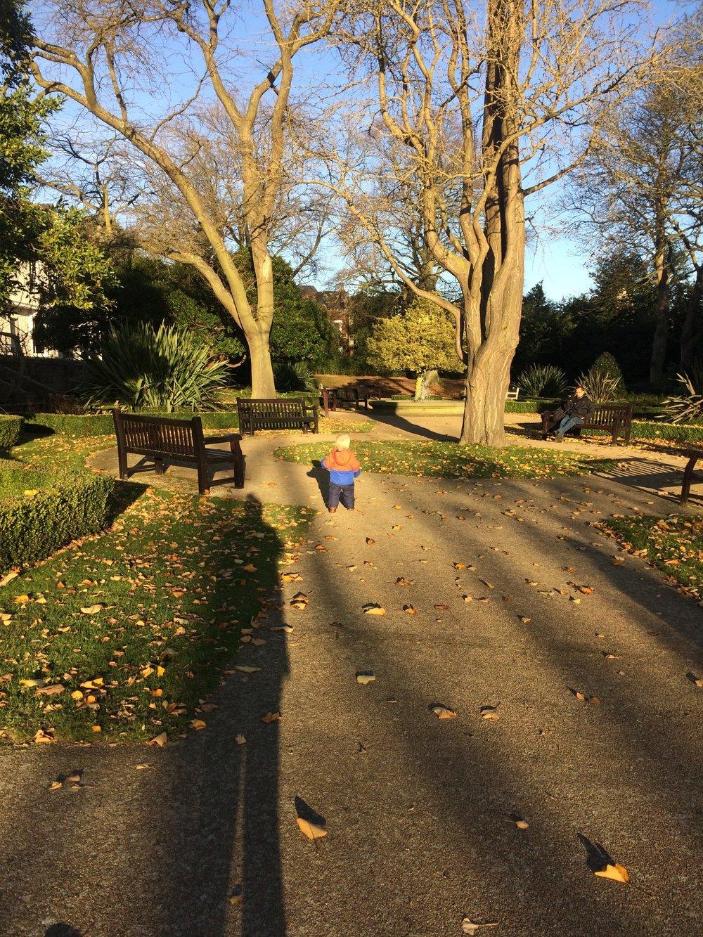 Waterlow Park Terrace Gardens