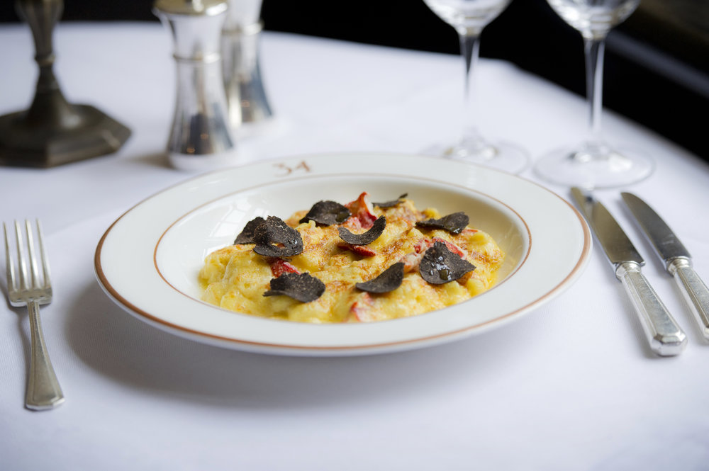 34 Mayfair Lobster macaroni with truffle 3 by Sim Canetty-Clarke.jpg