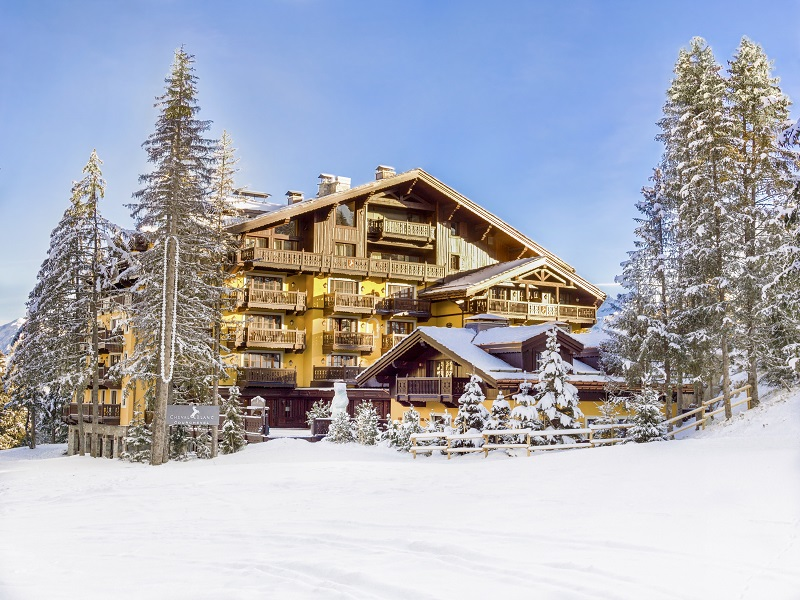 Cheval Blanc Courchevel Exterior