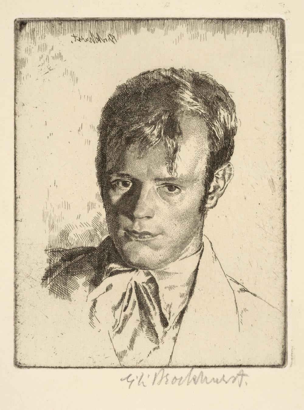 Henry Rushbury (1st plate), Gerald Brockhurst