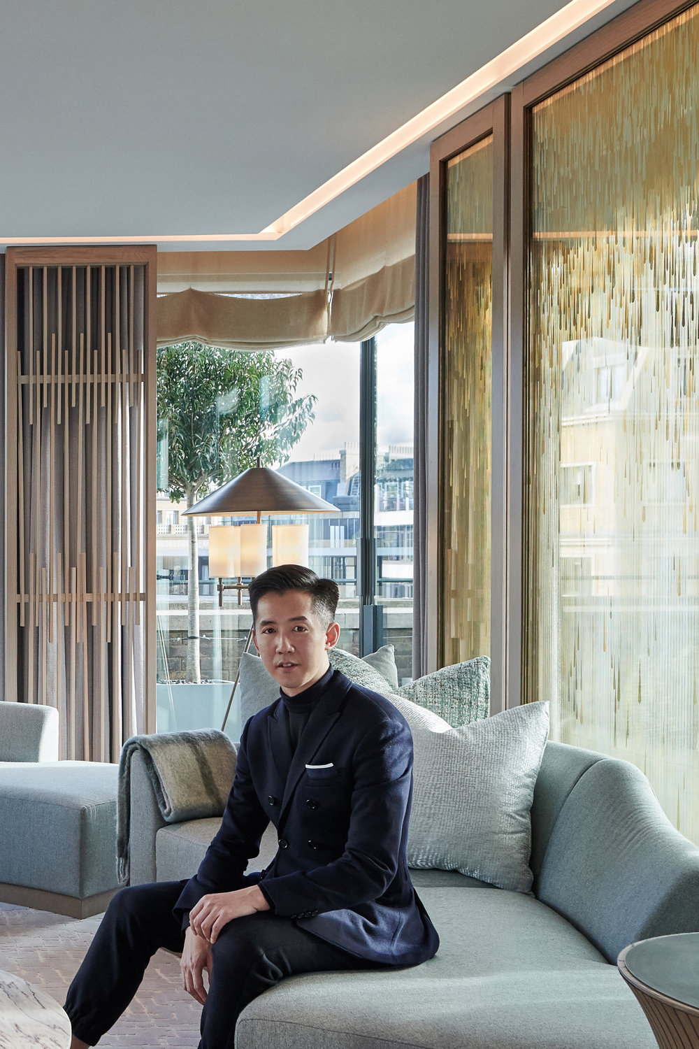 Andre Fu in The Grand Pavilion Suite