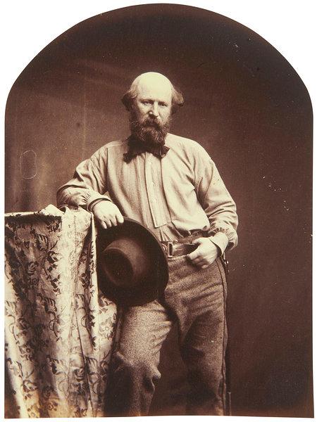 Self-portrait as Giuseppe Garibaldi by Oscar Rejlander