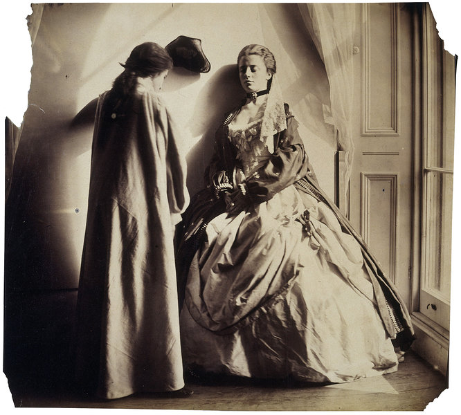 Photographic Study (Clementina and Isabella Grace Maude) by Clementina Hawarden