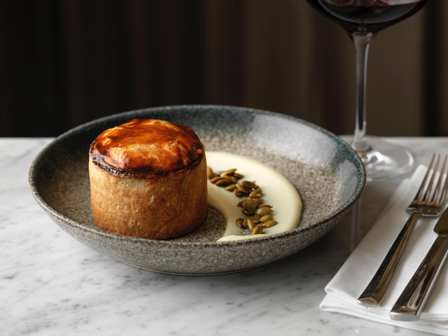 Searcys' Development Chef Shaun Rowlands (HIX restaurants; Quaglino's; Soho House Group) and the Searcys St Pancras' executive chef Colin Layfield, have created a new all-day menu, which focuses on the UK's finest seasonal produce, 90% of which is grown in the UK.