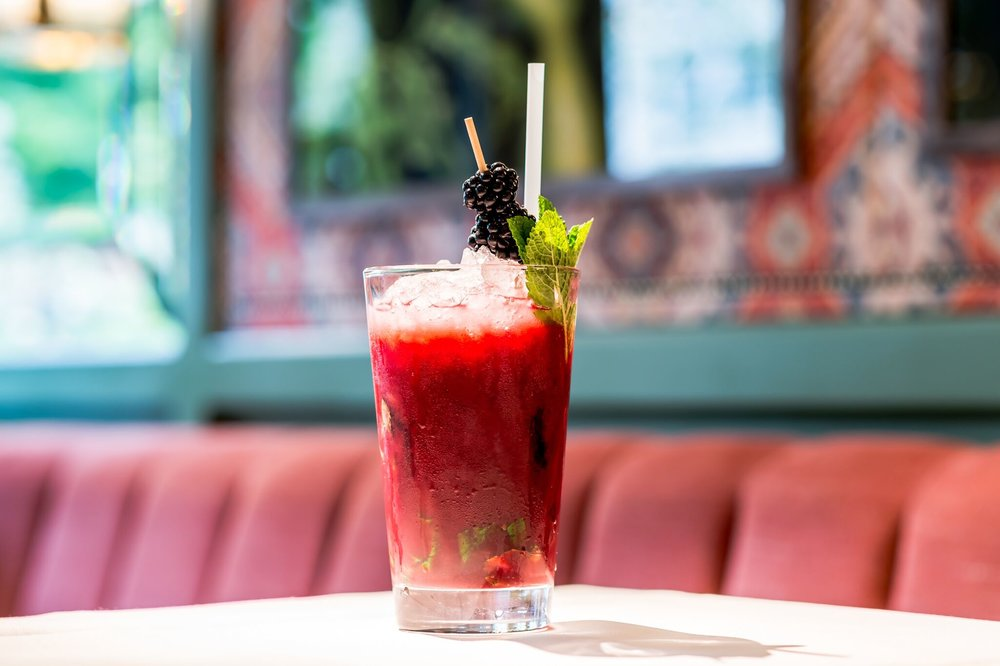 Summer Berry Cooler at The Ivy Chelsea Garden