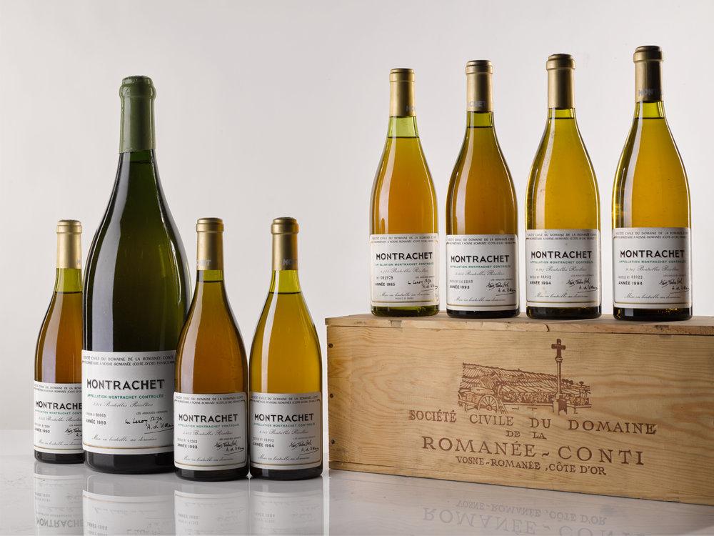 Montrachet 1985, 1989, 1993 & 1994