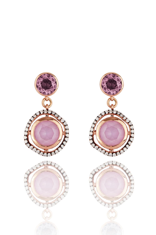 Lark & Berry Dark Halo Sapphire Drop Earrings, £825    www.larkandberry.com