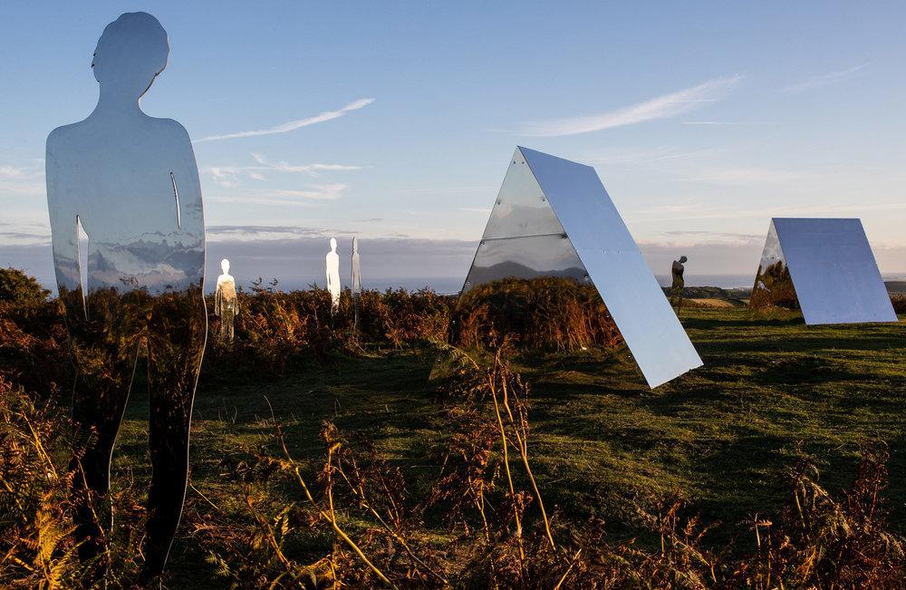 Rob Mulholland,  Settlement , 2018, Birkigg Common & Heysham Head, photo by Robin Zahler