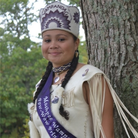 Keturah Nadine Peters, Sweet Dove, Mashpee Wampanoag Powwow Princess 2012-2013