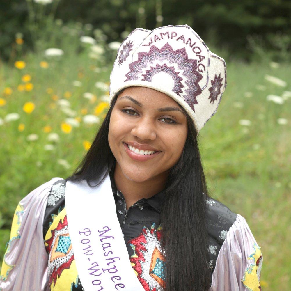 Chelsie Miranda , Mashpee Wampanoag Powwow Princess 2009-2010
