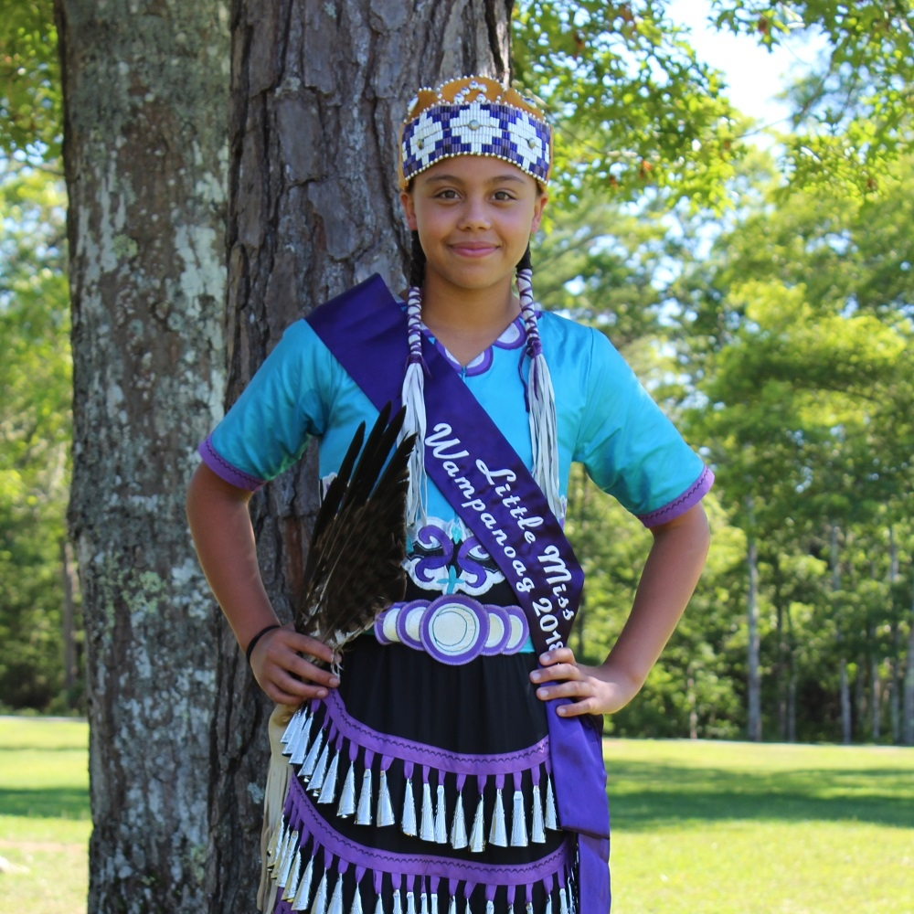 Nitana Star Perry , Little Miss Wampanoag 2018-2019 -  Read more about Nitana