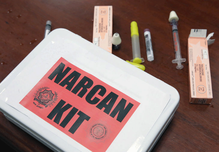 All adult participants will receive a free Narcan kit