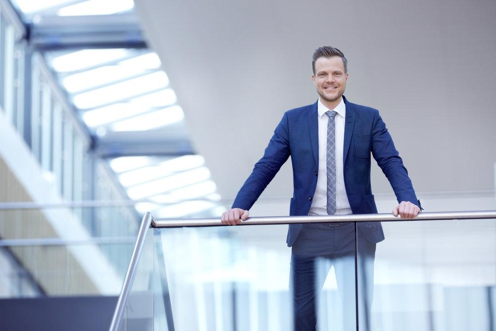 Harald Holm er kommunikasjonssjef for bærekraft i Storebrand.Foto: CF Wesenberg / kolonihaven.no