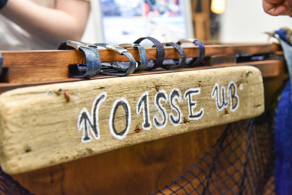 Navnet Noisse er satt sammen av forkortelsene for Norge, Island og Sverige –ettersom de fikk forretningsideen på en tur til Island. Turen fant sted som en del av prosjektet Nor-Pluss, der Dalane videregående samarbeidet med en skole på Island og en skole i Sverige. Foto Jonas Lisether / NewsLab