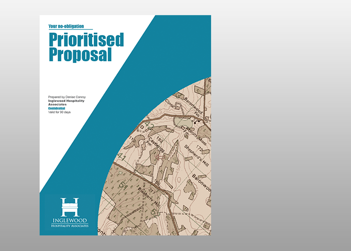 Provide you with a no-obligation prioritised proposal - to help you reduce costs, maximise sales and increase profit into the future. Of course this proposal will always remain COMPLETELY CONFIDENTIAL.
